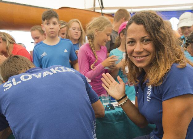 Jedinou ženou v slovenskej výprave rýchlostných kanoistov je kajakárka Martina Kohlová.