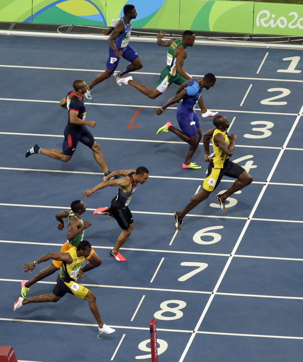 Usain Bolt opäť víťazí.