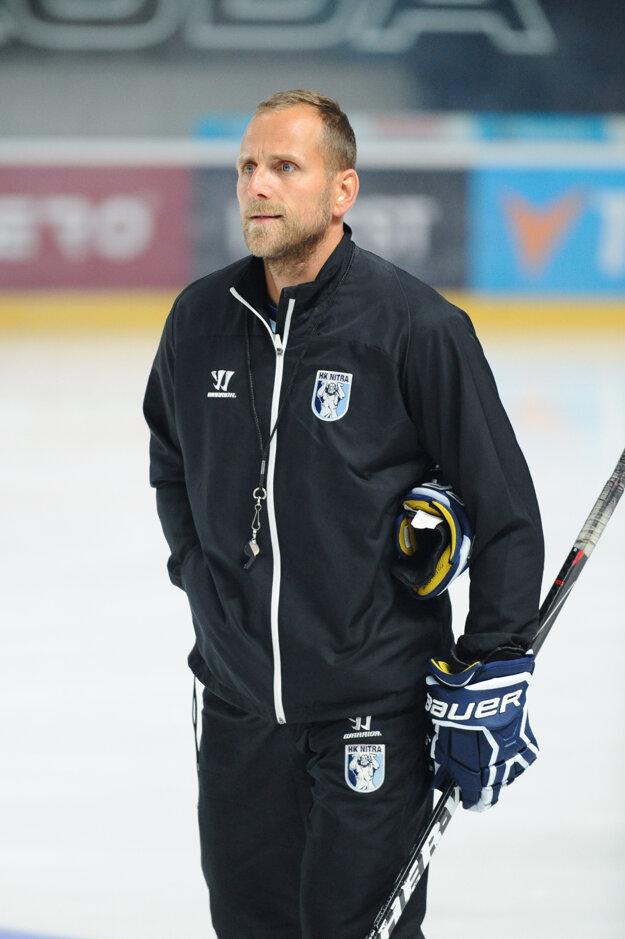 Tréner Nitry Andrej Kmeč.