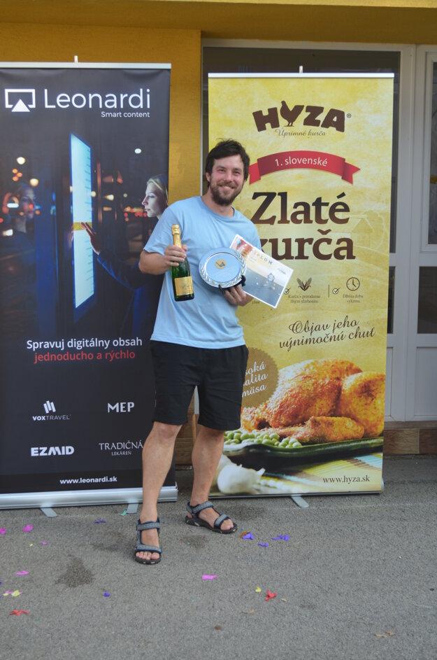 Najlepší strelec turnaja Tomáš Lasička