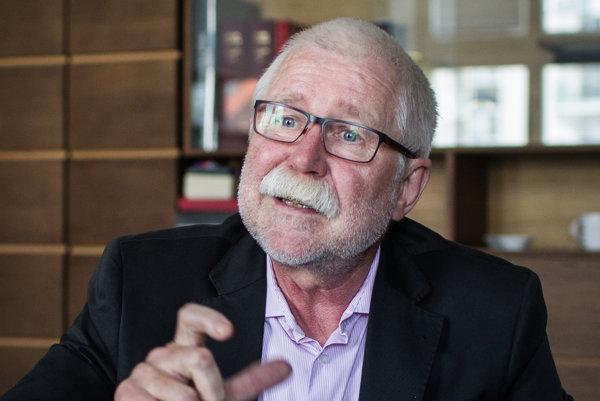 Pavol Šajgalík, riaditeľ SAV.