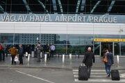 Pražské letisko.