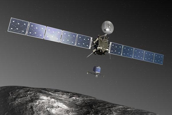 Sonda Rosetta a modul Philae