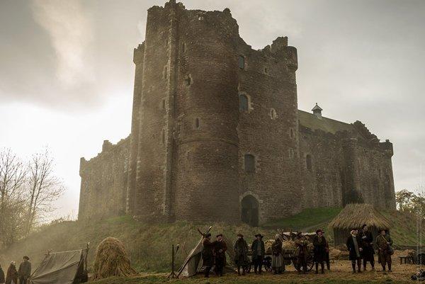 Doune castle je zo seriálu Outlander, u nás sa vysielal pod názvom Cudzinka