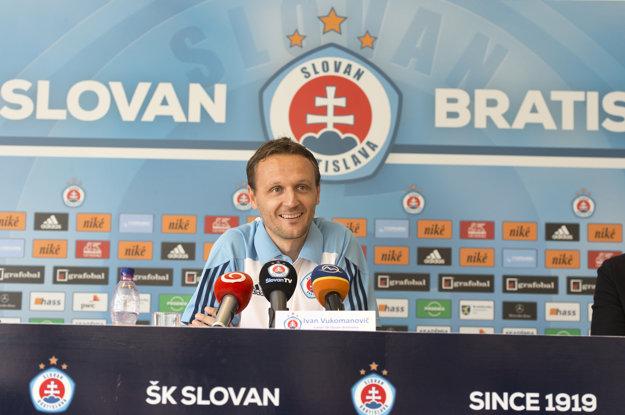 Pre Vukomanoviča je pôsobenie v Slovane výzvou.