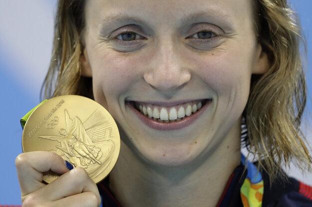 Katie Ledecky v Riu prekonala rekordy a získala až päť medailí.