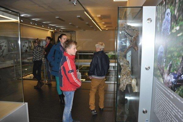 Infocentrum. V expozícii je viac než 100 druhov preparátov.