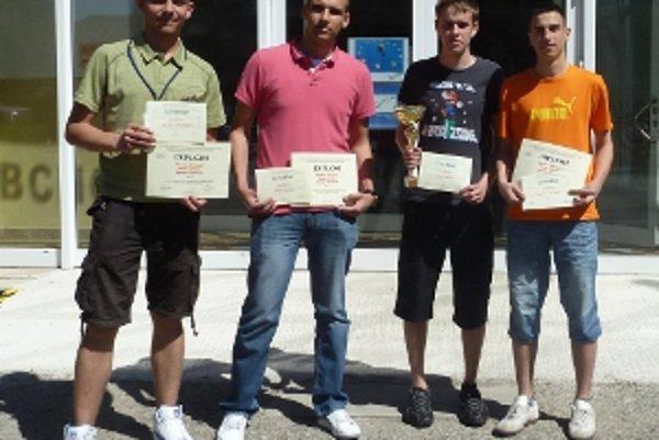 Študenti vyhrali celoslovenskú SOČ.