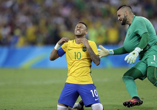 Útočník Neymar je novým brazílskym hrdinom.