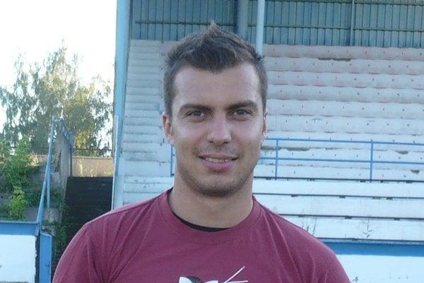 Norbert Sališ. Útočník FK Humenné.