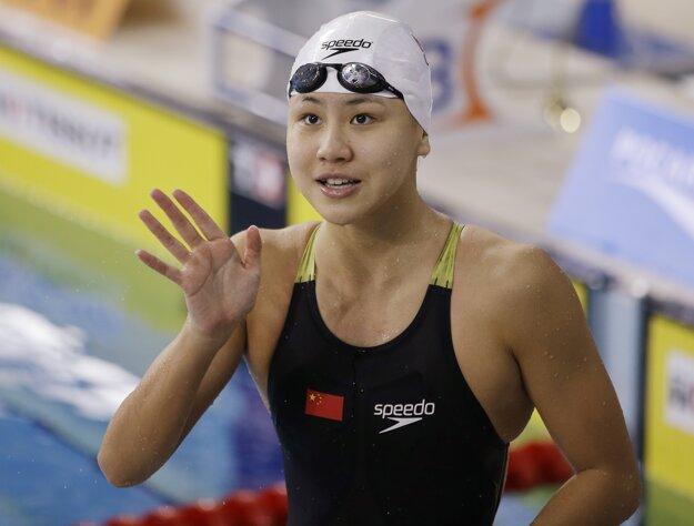 Čínska plavkyňa siahala na medailu. Aj keby ju získala, museli by jej ju odobrať.