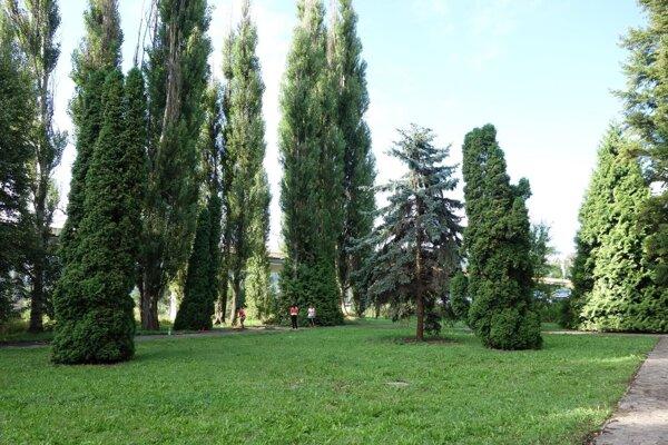 Park je ďalšou príjemnou zelenou oázou v centre mesta.