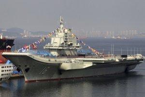Liao-ning je zatiaľ jediná lietadlová loď čínskeho námorníctva.