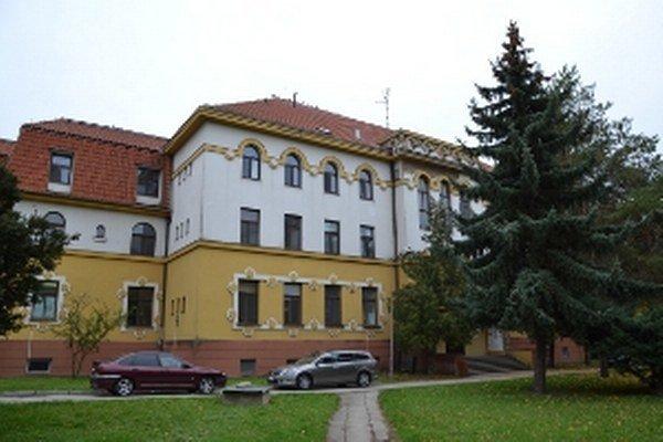 Detské oddelenie sídli v samostatnej budove - Dome života.
