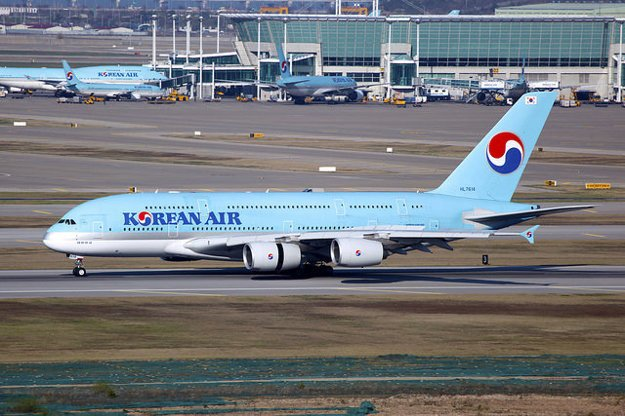 Korean Air, Airbus A380-861.