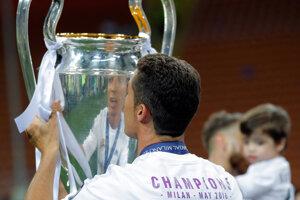 Cristiano Ronaldo oslavoval tento rok okrem iného aj víťazstvo v Lige majstrov.