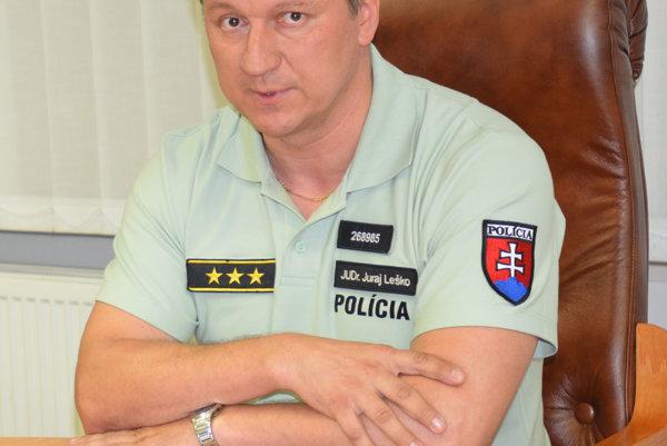 Juraj Leško. Krajský policajný šéf už nechce na magistráte žiadne problémy.