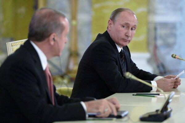 Putin a Erdogan.