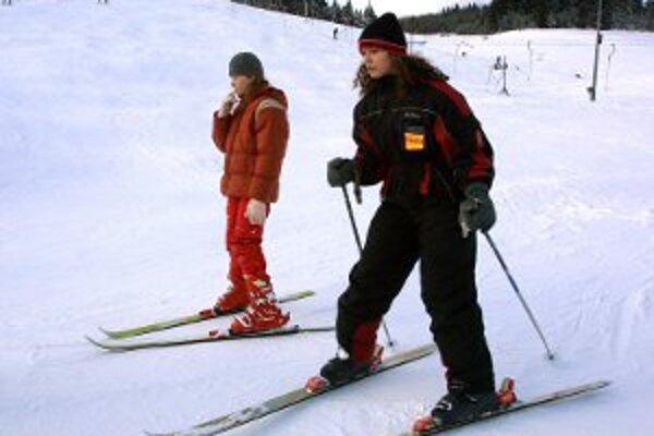 Na nedostatok snehu sa lyžiari počas zimy sťažovať nemohli.
