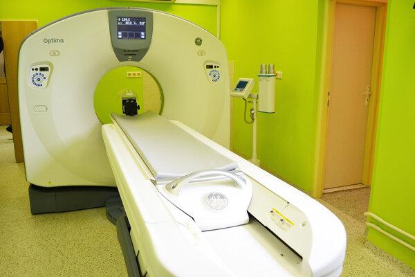 Nové CT. Chcú ho obstarať do župnej nemocnice vDolnom Kubíne.
