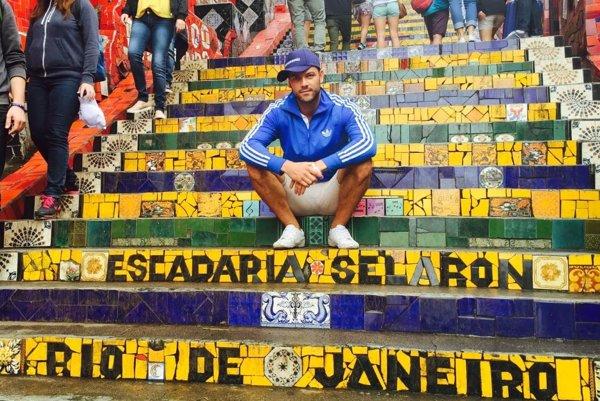 Peter Menky v Rio de Janeiro.