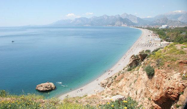 Antalya, pobrežie.