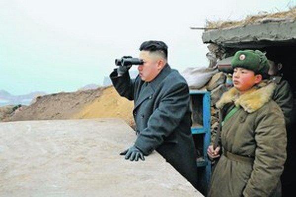 Diktátor Kim Čong-un.