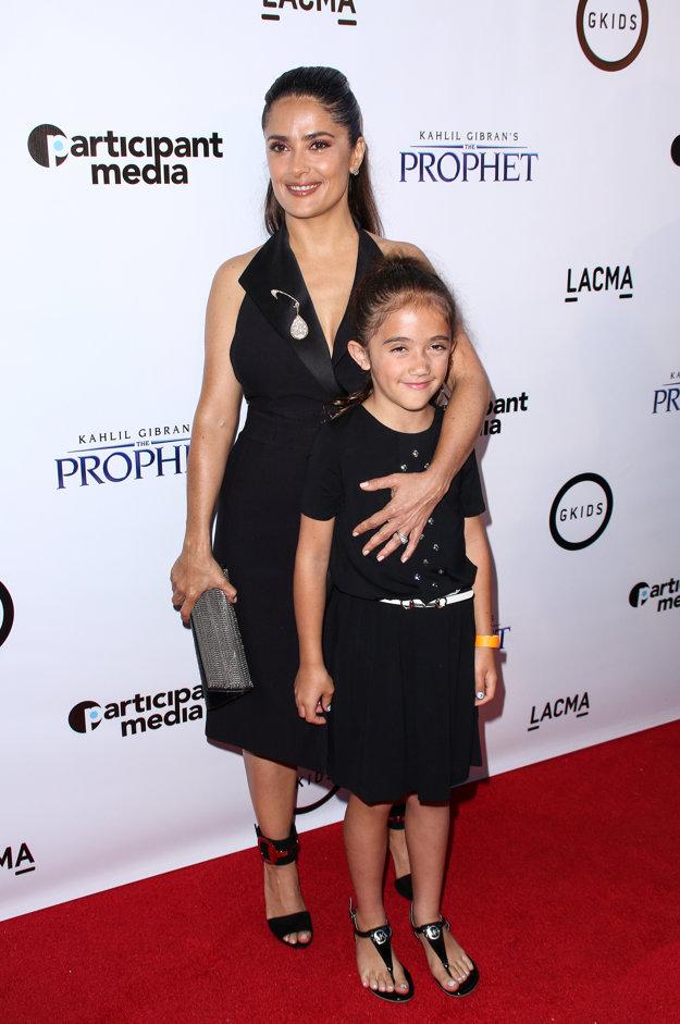 Salma s dcérou Valentinou
