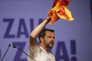 Ligu severu vedie Matteo Salvini.