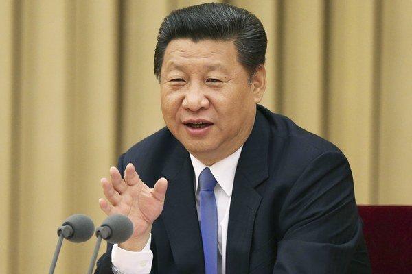 Čínsky prezident Si Ťin-ping.