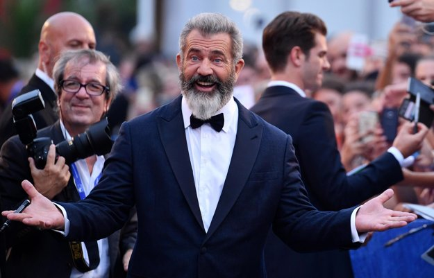 Mel Gibson v Benátkach.