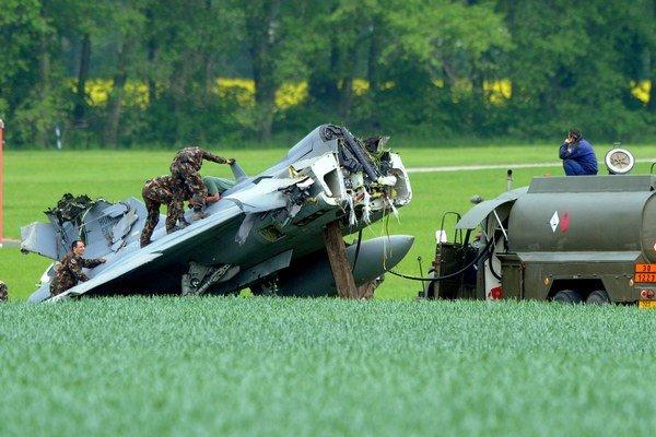 K havárii došlo počas pristávacieho manévru.