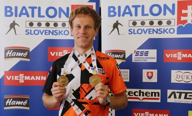 Dvojnásobný majster sveta v letnom biatlone Martin Otčenáš.