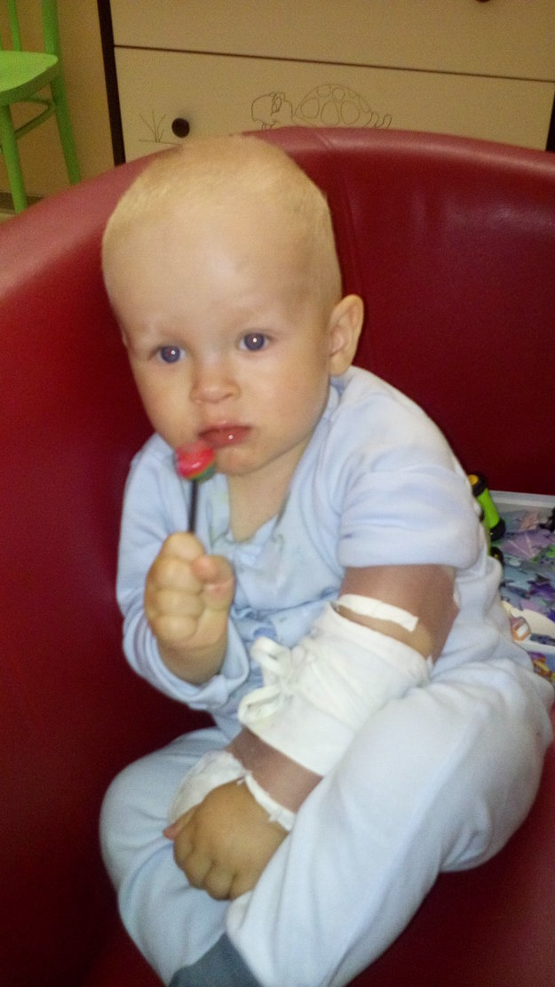 Lukáško trpí ojedinelou chorobou.