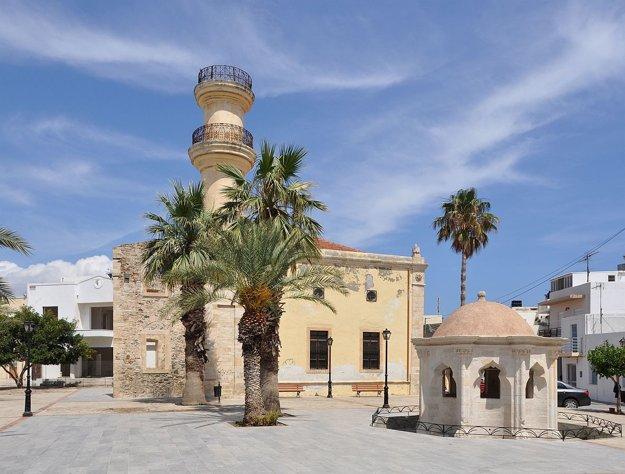 Turecká mešita a fontána, Ierapetra.