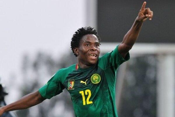 Kamerunský útočník Samuel Nlend.