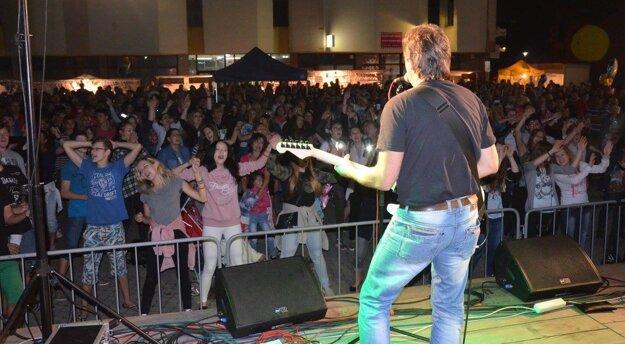 Publikum sa zabávalo počas celého víkendu.