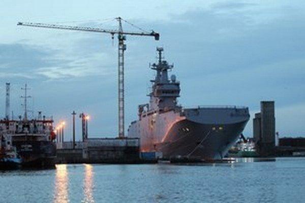Záujem o lode by mohla prejaviť aj Čína, aj keď tá už analogické projekty vrtuľníkových lodí má.