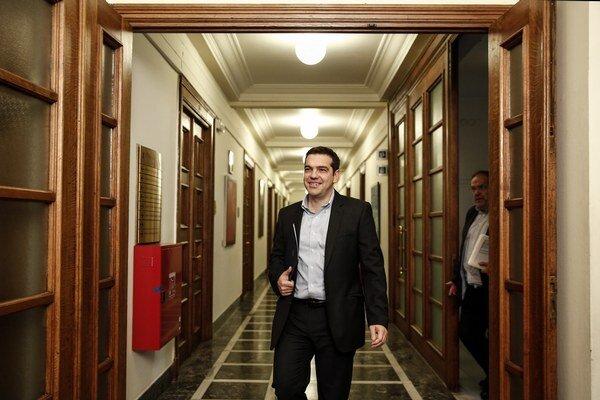 Grécky premiér Alexís Tsípras