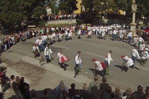 Radošovce - Dožinkový tanec