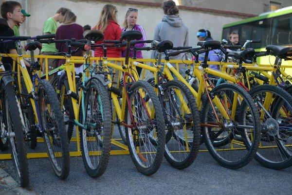 Na takýchto bicykloch sa bude jazdiť po Kežmarku.
