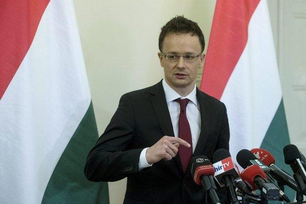 Péter Szijjártó sa v Prahe stretol so šéfom českej diplomacie Ľubomírom Zaorálkom.
