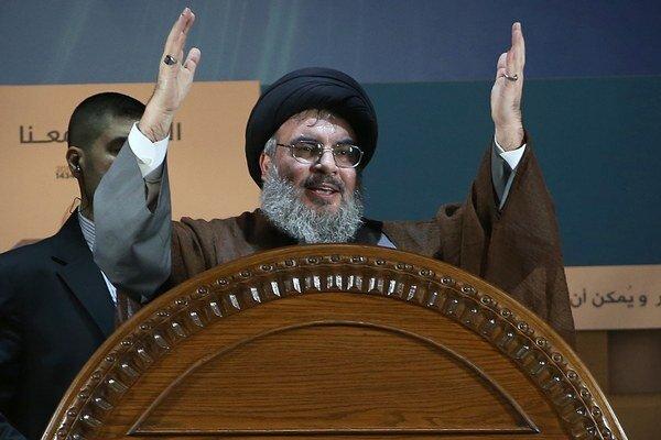 Líder Hizballáhu Hassan Nasrallah.