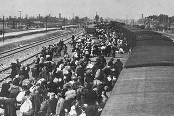 Odvoz do koncentračného tábora.
