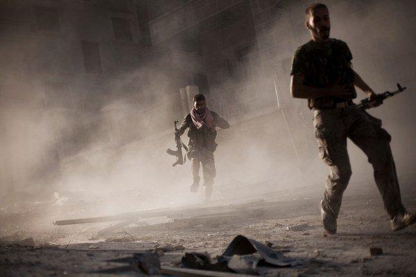 Boje v sýrskom meste Aleppo prebiehajú od júla 2012.
