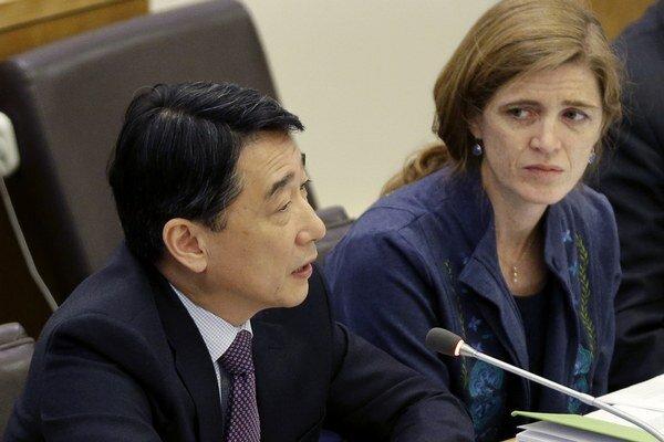 Veľvyslankyňa USA pri OSN Samantha Powerová sa celú situáciu pokúšala neúspešne upokojiť.
