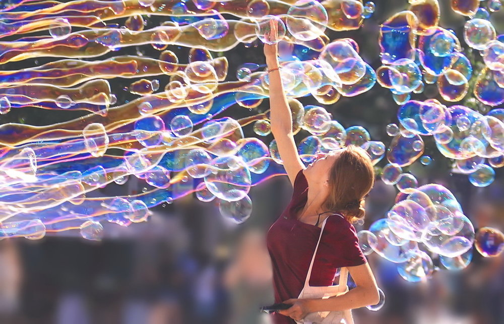 Bublinkový most