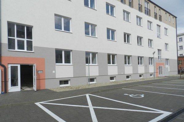 Bytový dom na Februárovej ulici.