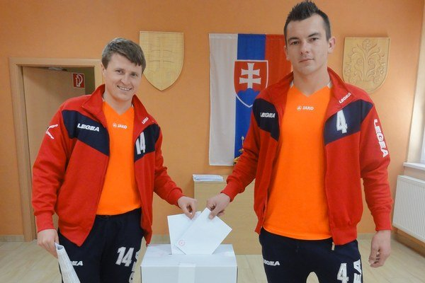 Dušan Mikuláš a Vladimír Masaryk.