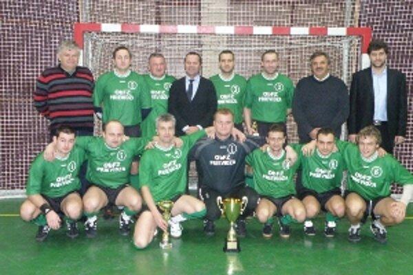 Výber OblFZ Prievidza triumfoval na rozhodcovskom turnaji, ktorý nemá obdobu nikde na Slovensku.